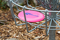 Frisbeegolfradat