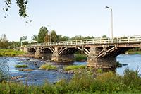 Большой мост в Южной деревне Этэлянкюля