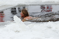 Место для зимнего плавания